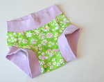"Size 2/3 Children's Dundies - ""springtime""  (can be used with our potty training insert)"