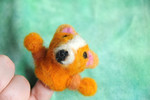 Wool Felt Finger Puppet - Bentley the Corgi ~by Shaylah