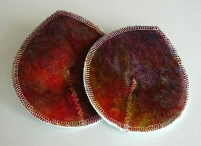 "ONE Pair of Super Soaker Nursing Pads - ""gemstone"""