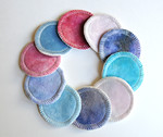 Set of TEN Reusable Cotton Balls/Cosmetic Pads