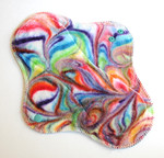 "ONE Swirls Wrap Wing Regular Flow Pad - ""carnival"""