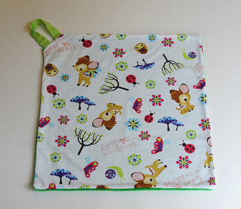 "Poppetjie - Pacifier Blanket - ""Enchanted, Lost in the Woods"""