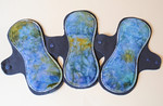 "THREE Regular Comfort Contour Pad- ""under the sea"""