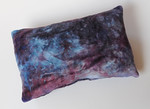 "Hand Dyed Bamboo Velour ""travel size"" pillow"