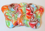 "ONE 7"" Tiny Liner- bamboo flannel swirls"