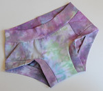 Women's Dundies Size 4 - hand dyed cotton lycra