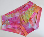 Women's Dundies Size 8 - hand dyed cotton lycra