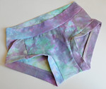 Women's Dundies Size 6 - hand dyed cotton lycra