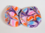 "Super Soaker Nursing Pads- ""preppy swirls"""