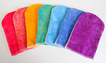 A RAINBOW of <B>FULL SIZE</B> Bath Mitts!