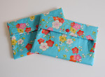 Asian Flowers Purse Sized Pad Wetbag