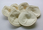 ONE PAIR Silk Contoured Nursing Pads