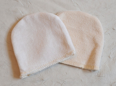 <b>SALE- 20% OFF!</b> Set of TWO Facial Mitts- Natural Beauty