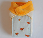 "Reversible ""Ultimate"" Not-So-Flat-Wrap-INFANT-Swimming Goldfish"