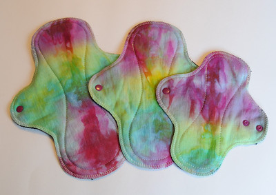 "Wrap Wing Sampler Package - bamboo fleece - ""rainbow gem"""