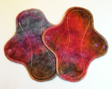 """TWO Light Wrap Wing Pads - """"lost in paradise"""""""