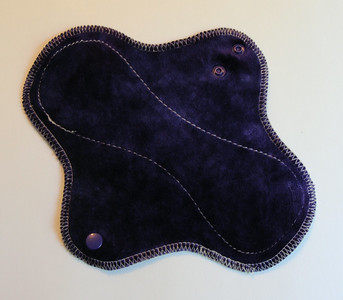 """ONE Light Wrap Wing Pad with PUL - """"amethyst"""""""