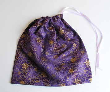 One Drawstring Small Stash Bag