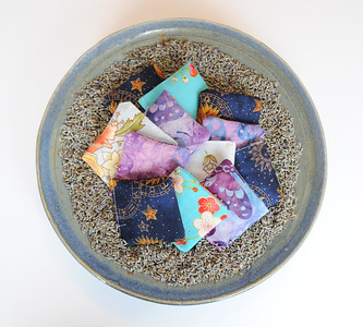 Lavender Stash Sachets - created with real lavender buds!
