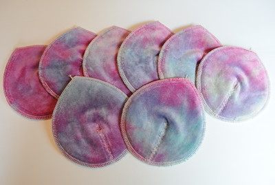 ONE Pair of Super Soaker Nursing Pads - �pastels�