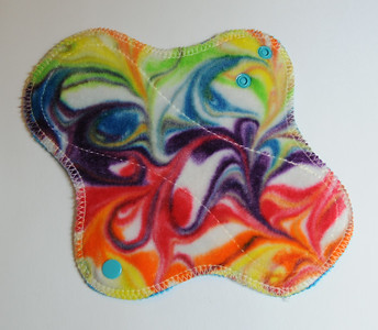 "ONE Light Wrap Wing Pad - ""swirls"""