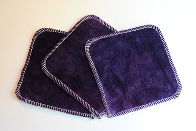 "5x5 ""ultimate luxury"" Cloths - Set of THREE"