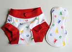 <b>*NEW*- Children's Dundies Size 2/3 with Snap-in Trainer Insert!</b>