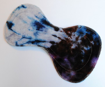 """ONE Ultimate II Pad for Heavy Flow or Postpartum - """"ice dye"""""""