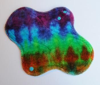 """ONE Regular Flow Wrap Wing Pad - """"scrunch dye"""""""