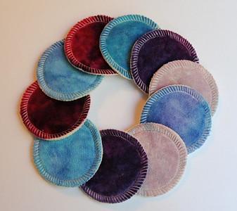 Reusable Cotton Balls/Cosmetic Pads - set of TEN