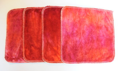 """8x8 """"ultimate luxury"""" Cloths - Set of FOUR"""